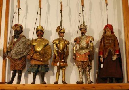 Pupi siciliani museo pitrè