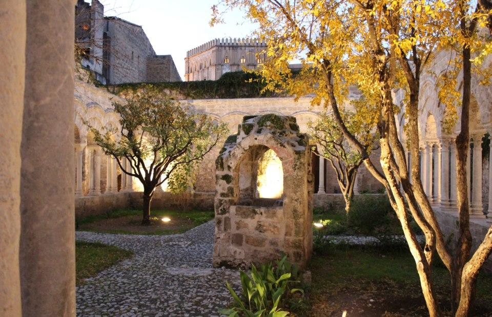 pozzo chiostro San Giovanni degli Eremiti