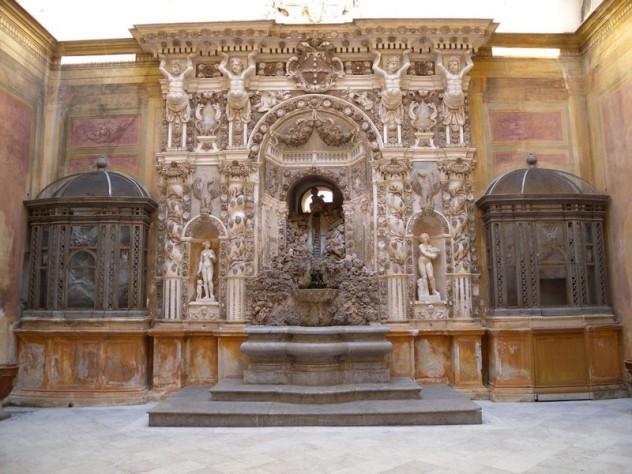 Palazzo Mirto - Fontana barocca