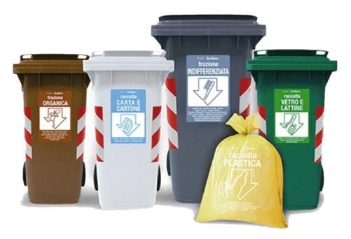 La raccolta differenziata dei rifiuti - Porta spazzatura differenziata ...