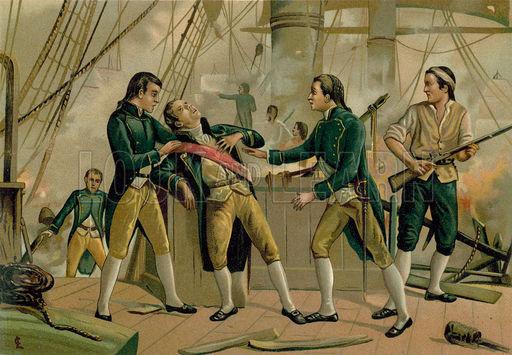 La morte dell'Ammiraglio Gravina.