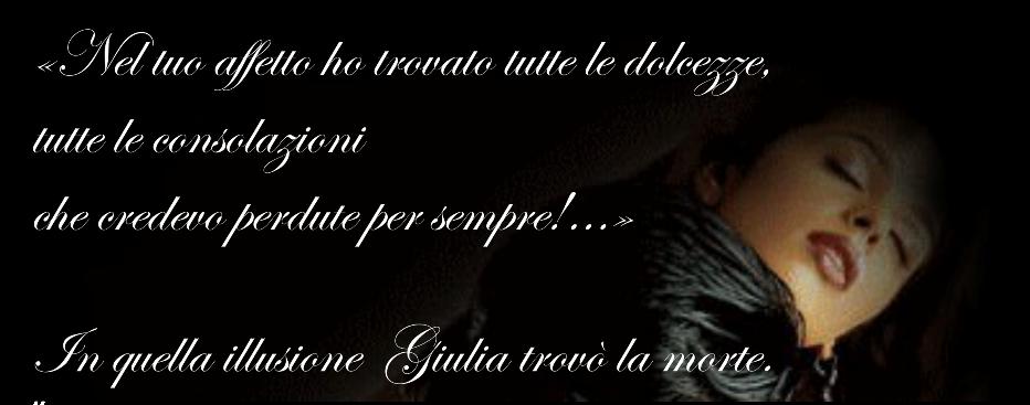 La tragica storia d'amore di Giulia