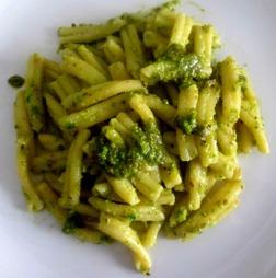 caserecce pistacchio