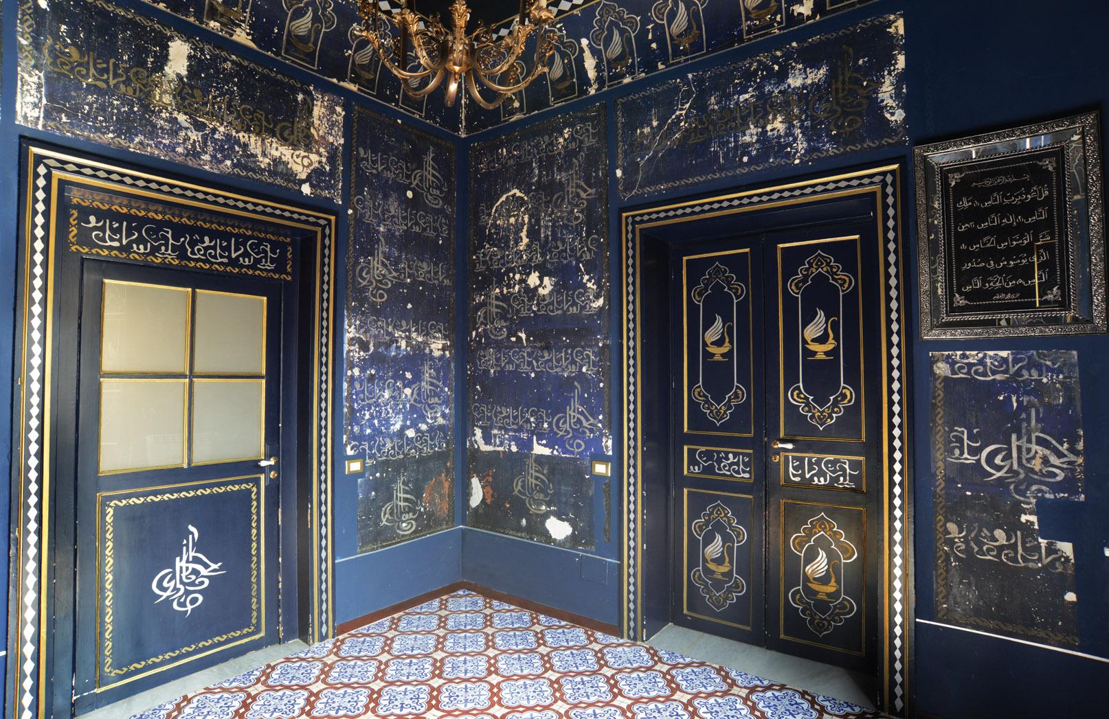 Il mistero della stanza araba di palermo for Piani di casa con stanza della torre