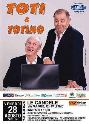 "Toti & Totino in: ""Eccoci qua"""