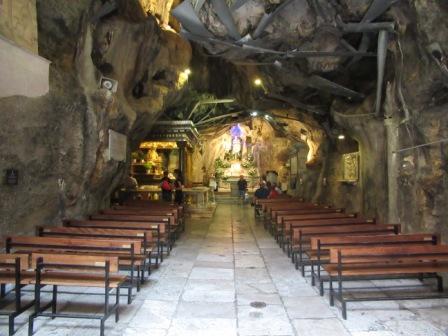 Grotta santuario S. Rosalia