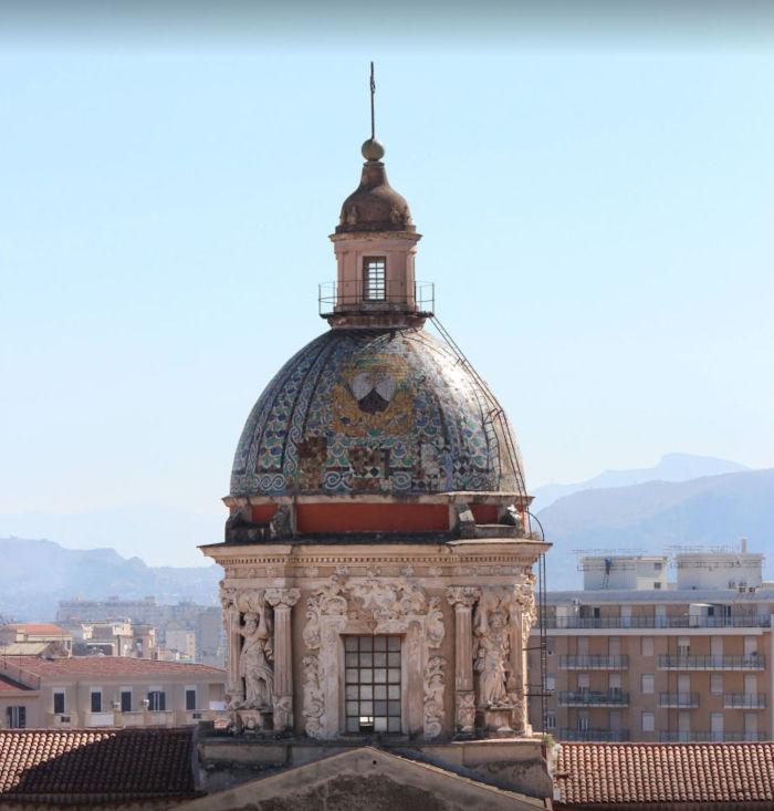 Cupola della Chiesa del Carmine