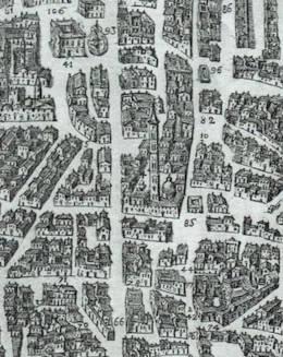 Torre di sant'Antonio carta del 1580