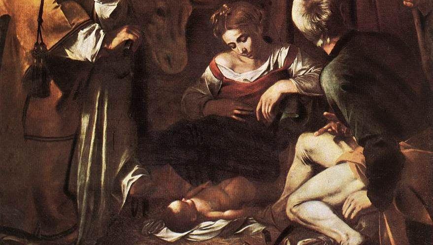 Nativita con i santi Francesco e Lorenzo1
