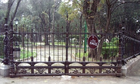 Ingresso Villa Garibaldi