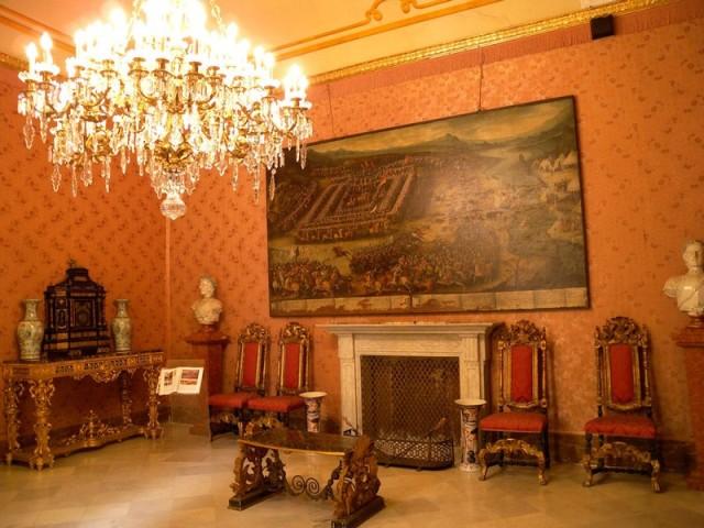 Palazzo Mirto - Salone degli arazzi