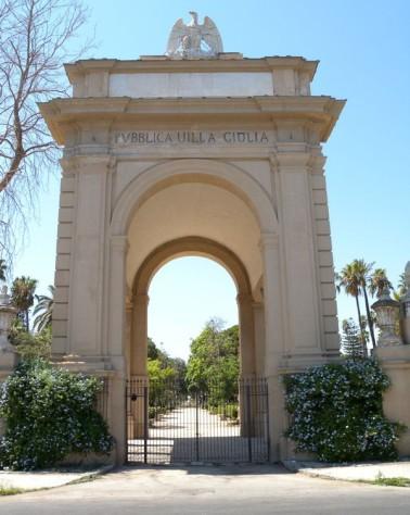 ingresso principale villa giulia