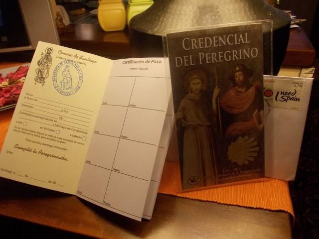 credenziali del pellegrino