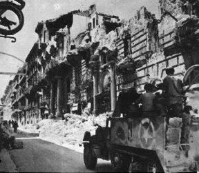 palazzo geraci bombardato