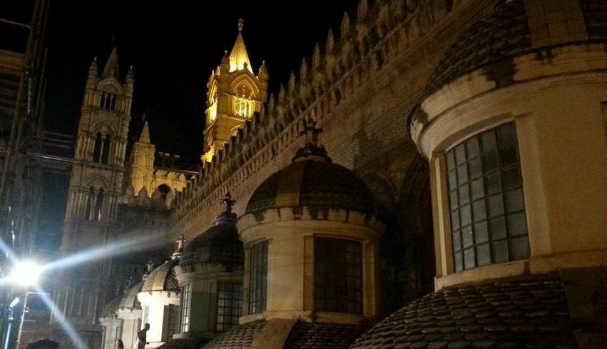 palermo tetti dellacattedrale