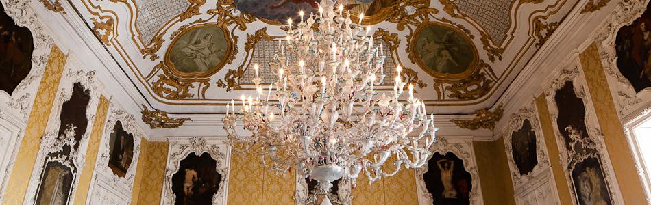 palazzo alliata lampadario