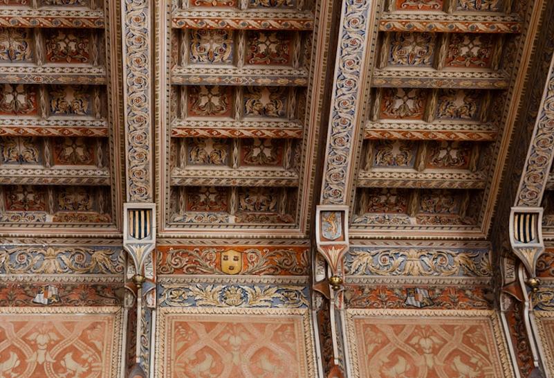 soffitto palazzo alliata