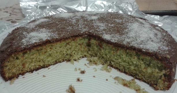 torta cocco e menta