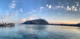 Monte Pellegrino da Mondello