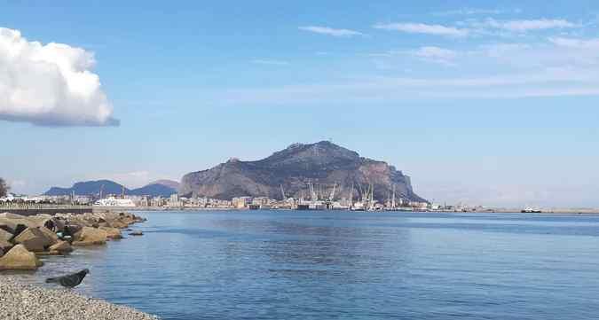 Monte Pellegrino da Palermo