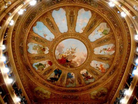 Teatro Massimo Tetto Platea
