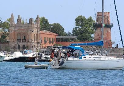 Arenella Palermo dal mare