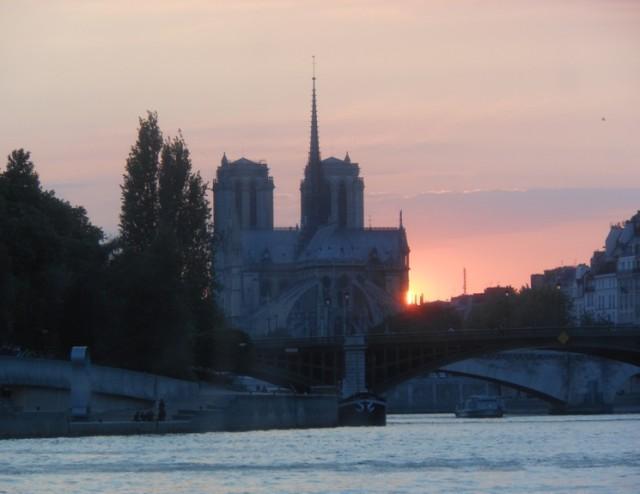 Parigi Tramonto