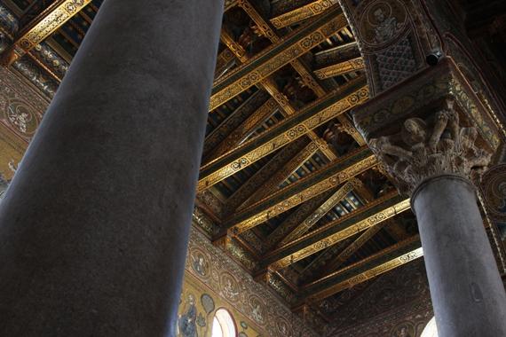I tetti del duomo di monreale