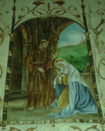 san francesco e santa Elisabetta d'Ungheria