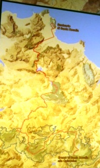 mappa itinearario s.rosalia
