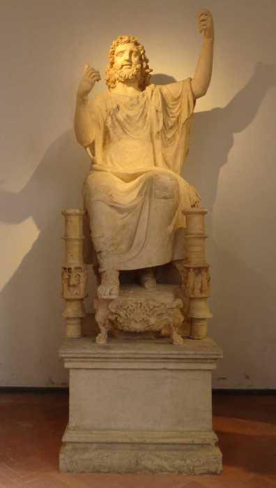 statua colossale di Zeus