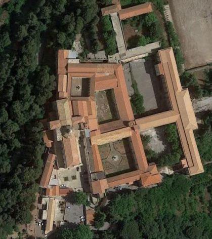 Pianta dell'Abbazia san Martino delle Scale