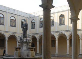 San Martino delle Scale - il chiostro