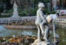 I bambini del Rutelli, Giardino Inglese Palermo
