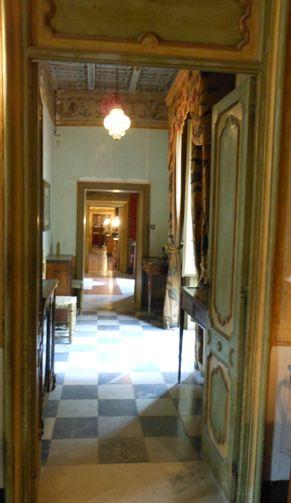 Villa Niscemi enfilade