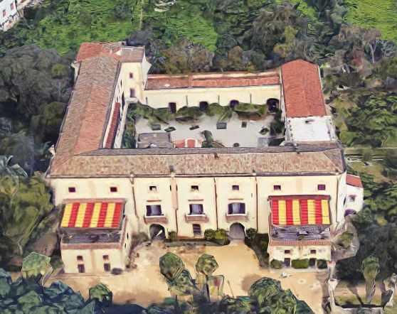 Villa Niscemi visione panoramica
