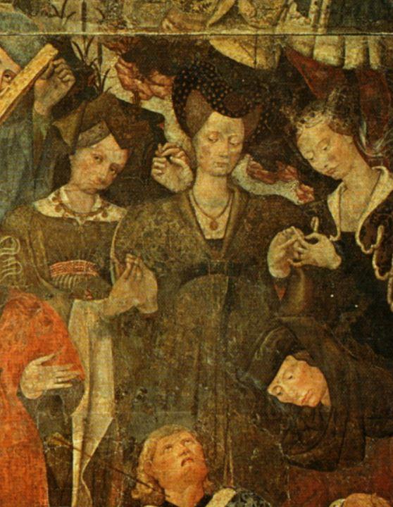 Trionfo_della_morte, gruppo di destra