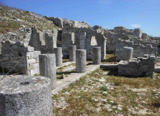 area archeologica monte Jato