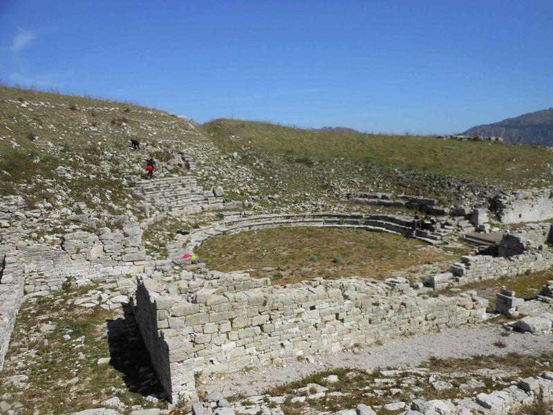teatro greco monte Jato