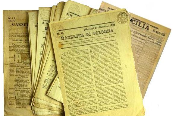 Giornali antichi