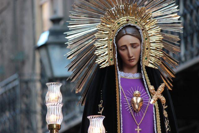 madonna addolorata venerdì santo san matteo