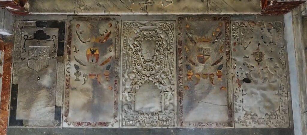 Tombe degli Inquisitori nella Chiesa della Gancia