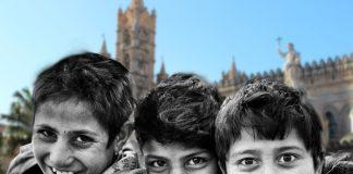 bambini a Palermo